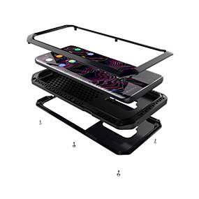 olcso Galaxy S tokok-Case Kompatibilitás Samsung Galaxy S9 Plus / S9 Ütésálló / Páncél Héjtok Páncél Kemény Fém mert S9 / S9 Plus / S8 Plus