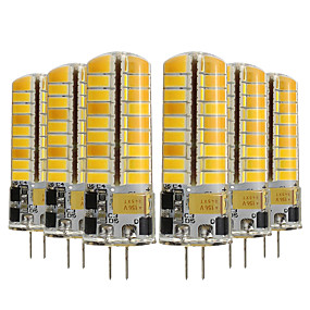 abordables Luces LED de Doble Pin-YWXLIGHT® 6pcs 5 W Luces LED de Doble Pin 400-500 lm G4 T 72 Cuentas LED SMD 5730 Decorativa Blanco Cálido Blanco Fresco 12-24 V