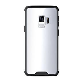voordelige Galaxy S7 Hoesjes / covers-hoesje Voor Samsung Galaxy S9 / S9 Plus / S8 Plus Schokbestendig / Transparant Achterkant Effen Hard Acryl