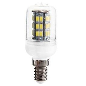 ieftine Becuri LED Corn-SENCART 1 buc 5 W Becuri LED Corn 1200 lm E14 GU10 T 42 LED-uri de margele SMD 5730 Decorativ Alb Cald 12 V