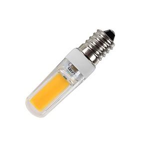 Недорогие LED лампы дневного света-WeiXuan 1шт 3 W Люминесцентная лампа 265 lm E14 T 1 Светодиодные бусины COB Тёплый белый Холодный белый 220-240 V / RoHs