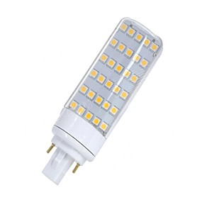abordables Luces LED de Doble Pin-SENCART 1pc 5.5 W Luces LED de Doble Pin 580-650 lm G24 T 30 Cuentas LED SMD 5050 Decorativa Blanco Cálido Blanco 85-265 V 12 V