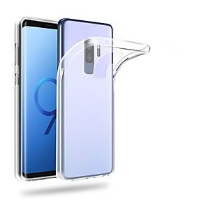 voordelige Galaxy S7 Edge Hoesjes / covers-hoesje Voor Samsung Galaxy S9 / S9 Plus / S8 Plus Ultradun / Transparant Achterkant Effen Zacht TPU