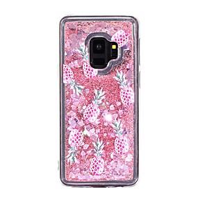 voordelige Galaxy S7 Hoesjes / covers-hoesje Voor Samsung Galaxy S9 / S9 Plus / S8 Plus Stromende vloeistof Achterkant Fruit Zacht TPU