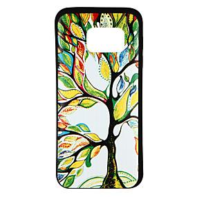 voordelige Galaxy S7 Edge Hoesjes / covers-hoesje Voor Samsung Galaxy S8 / S7 edge / S7 Patroon Achterkant Boom Zacht TPU