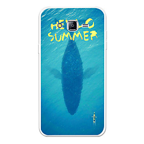 voordelige Galaxy J3 Hoesjes / covers-hoesje Voor Samsung Galaxy J7 (2017) / J7 (2016) / J7 Patroon Achterkant Landschap / dier / Cartoon Zacht TPU