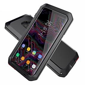 Χαμηλού Κόστους Θήκες / Καλύμματα Galaxy S Series-tok Για Samsung Galaxy S9 Plus / S9 Ανθεκτική σε πτώσεις / Ανθεκτικό στο Νερό / Πανοπλία Πλήρης Θήκη Πανοπλία Σκληρή Μεταλλικό για S9 / S9 Plus / S8 Plus