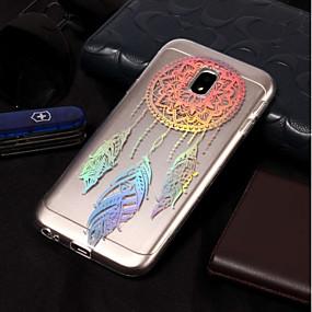voordelige Galaxy J7 Hoesjes / covers-hoesje Voor Samsung Galaxy J7 (2017) / J7 (2016) / J7 Beplating / Patroon Achterkant Dromenvanger Zacht TPU