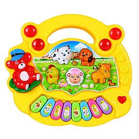olcso Klasszikus játékok-Elektronikus billentyűzet Színpompás Uniszex Fiú Lány Baba Játékok Ajándék 1 pcs / Fa