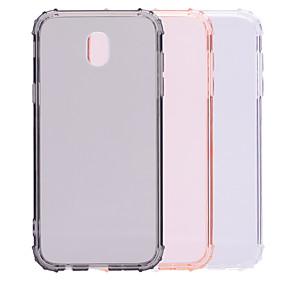 voordelige Galaxy J5(2017) Hoesjes / covers-hoesje Voor Samsung Galaxy J7 (2017) / J5 (2017) / J3 (2017) Schokbestendig / Transparant / Doorzichtig Achterkant Effen Zacht TPU