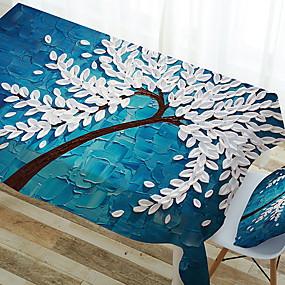 ieftine Bucătărie & Masă-Contemporan Pătrat Fețe de masă Floral Geometric Decoratiuni de tabla 1 pcs