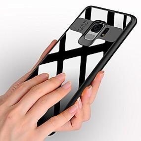 voordelige Galaxy S7 Edge Hoesjes / covers-hoesje Voor Samsung Galaxy S9 / S9 Plus / S8 Plus Transparant Achterkant Effen Hard Acryl