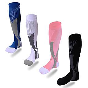8e7a52fcfe4b Χαμηλού Κόστους Αθλητικά ρούχα-Νάιλον Γιούνισεξ Κάλτσες συμπίεσης Ικανότητα  να αναπνέει 1 Pair