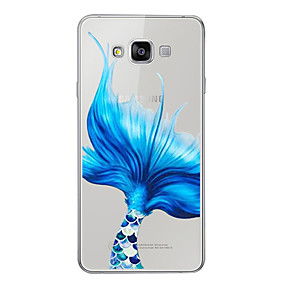 voordelige Galaxy A8 Hoesjes / covers-hoesje Voor Samsung Galaxy A3 (2017) / A5 (2017) / A7 (2017) Patroon Achterkant Cartoon Zacht TPU