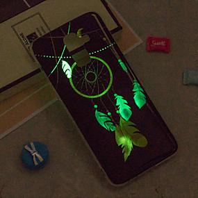 voordelige Galaxy J7(2017) Hoesjes / covers-hoesje Voor Samsung Galaxy J8 / J7 (2017) / J7 (2016) Glow in the dark / IMD / Patroon Achterkant Dromenvanger Zacht TPU