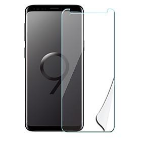 halpa Samsung suojakalvot-Näytönsuojat varten Samsung Galaxy S9 Plus Karkaistu lasi / PET 1 kpl Näytönsuoja Räjähdyksenkestävät / Ultraohut / Naarmunkestävä