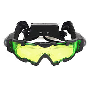 tanie Sport i turystyka-X Okulary z noktowizją Obiektywy Wodoodporny Regulowany Mgłę Kemping i turystyka Night Vision Plastik Metal