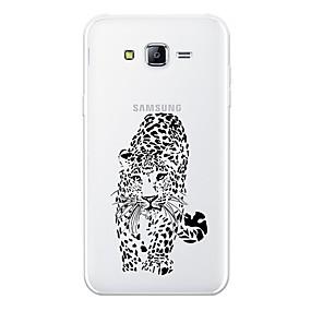 voordelige Galaxy J7 Hoesjes / covers-hoesje Voor Samsung Galaxy J7 (2017) / J7 (2016) / J7 Patroon Achterkant dier Zacht TPU