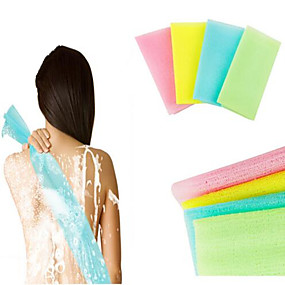 cheap Bathroom Gadgets-Bath Mitts & Cloths Easy to Use Contemporary / Basic Nylon Brush 1pc - tools / cleaning Sponges & Scrubbers