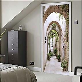 povoljno Ukrasne naljepnice-Dekorativne zidne naljepnice - 3D zidne naljepnice Mrtva priroda / 3D Spavaća soba / Unutrašnji