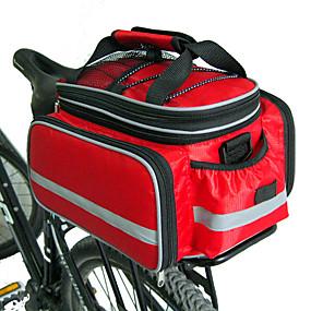 tanie Akcesoria turystyczne-FJQXZ Torba rowerowa na bagażni Torby rowerowe na bagażnik Duża pojemność Wodoodporny Regulowany rozmiar Torba rowerowa Nylon Torba na rower Torba rowerowa Kolarstwo / Rower