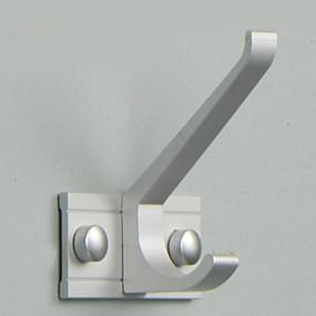 cheap Bathroom Gadgets-Robe Hook New Design / Cool Modern Aluminum 1pc Wall Mounted