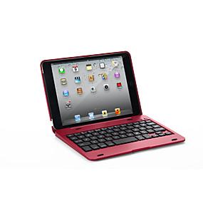 levne iPhone pouzdra-Carcasă Pro Apple iPad Mini 3/2/1 / J6 s klávesnicí Celý kryt Jednobarevné Pevné PU kůže pro iPad Mini 3/2/1