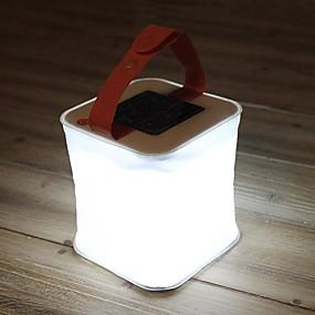olcso Zseblámpák-LuminAID Lámpások & Kempinglámpák LED Sugárzók Vízálló Összecsukható Napelemes Kempingezés / Túrázás / Barlangászat Fehér