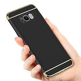 voordelige Galaxy S6 Edge Plus Hoesjes / covers-hoesje Voor Samsung Galaxy S9 / S9 Plus / S8 Plus Beplating Achterkant Effen Hard PC