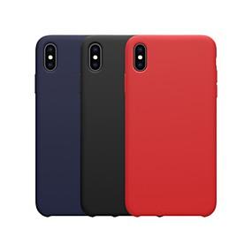 billige Nliikin®-Nillkin Etui Til Apple iPhone XR / iPhone XS Max Stødsikker / Child Safe Case Bagcover Ensfarvet Blødt silica Gel for iPhone XS / iPhone XR / iPhone XS Max