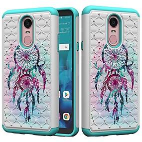 저렴한 LG-케이스 제품 LG K10 2018 / G7 충격방지 / 크리스탈 / 패턴 뒷면 커버 포수 드림 / 라인석 하드 PC 용 LG Stylo 4 / LG G7 ThinQ / LG G6