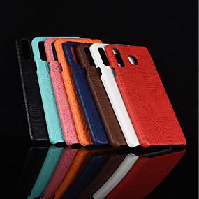 voordelige Galaxy A7(2016) Hoesjes / covers-hoesje Voor Samsung Galaxy A5(2018) / A6 (2018) / A6+ (2018) Mat Achterkant Effen Hard PU-nahka
