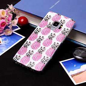 voordelige Galaxy S7 Hoesjes / covers-hoesje Voor Samsung Galaxy S9 / S9 Plus / S8 Plus IMD / Patroon Achterkant Fruit Zacht TPU