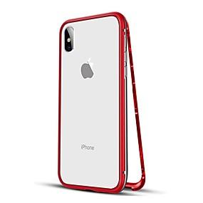 ieftine Cumpărați după modelul telefonului-Maska Pentru Apple iPhone XS / iPhone XR / iPhone XS Max Anti Șoc / Magnetic Carcasă Telefon Mată Greu MetalPistol