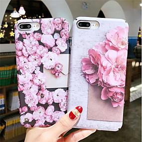olcso iPhone tokok-Case Kompatibilitás Apple iPhone XR / iPhone XS Max Foszforeszkáló / Minta Fekete tok Virág Kemény PC mert iPhone XS / iPhone XR / iPhone XS Max