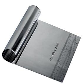 ieftine Bucătărie & Masă-1 buc Teak Oțel inoxidabil O noua sosire Reparații Utilizare Zilnică Ustensile Novelty de Bucătărie Dreptunghiular Unelte pentru paste Instrumente de coacere