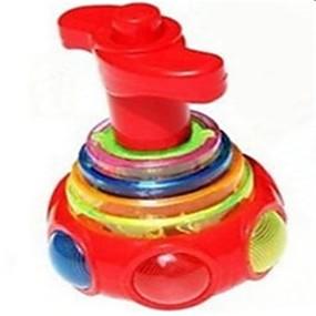 billige Udendørs legetøj-Snurretop Selvlysende Plastik Sport og udendørs Udendørs Stk. Teen Alle Legetøj Gave