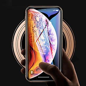 abordables Protections Ecran pour iPhone XR-Cooho Protecteur d'écran pour Apple iPhone XS / iPhone XR / iPhone XS Max Verre Trempé 1 pièce Ecran de Protection Avant Haute Définition (HD) / Dureté 9H / Antidéflagrant
