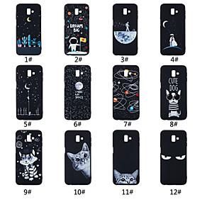 voordelige Galaxy J5(2017) Hoesjes / covers-hoesje Voor Samsung Galaxy On7(2016) / On5(2016) / J7 Prime Mat / Patroon Achterkant Woord / tekst / Landschap / dier Zacht TPU