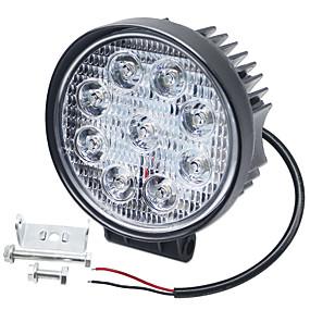 billige Car Signal Lights-SO.K 1 Stykke Bil Elpærer 27 W Integreret LED 6000 lm 9 LED Tågelys / Kørelys til dagskørsel / Blinklys Til Universel Alle år