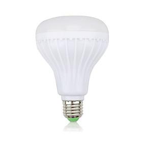 Недорогие RGB контроллеры-YWXLIGHT® 1шт 12 W Умная LED лампа 1000 lm 28 Светодиодные бусины SMD Bluetooth Диммируемая На пульте управления RGB 100-240 V