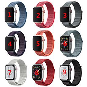 economico Accessori per Apple Watch-Cinturino per orologio  per Apple Watch Series 4/3/2/1 Apple Cinturino sportivo / Stile dei gioielli Nylon Custodia con cinturino a strappo