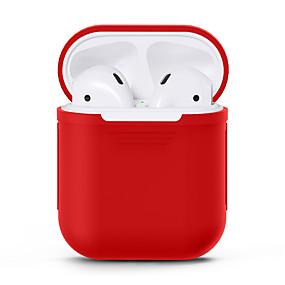 저렴한 최고 판매-헤드폰 케이스 전신 실리콘 블랙 / 루비 / 블러슁 핑크 1 pcs