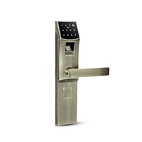 billige Dørlås-holishi® zink legeringslås / intelligent lås smart hjemme sikkerhedssystem rfid / fingeraftryk oplåsning / adgangskode oplåsning husstand / hjem / hjem / kontor sikkerhedsdør / trædør / komposit
