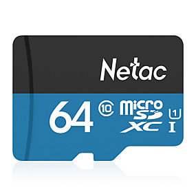 cheap New Arrivals-Netac 64GB memory card UHS-I U1 / Class10 P500