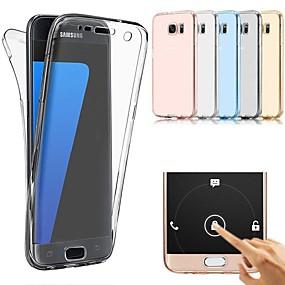 halpa Galaxy S -sarjan kotelot / kuoret-Etui Käyttötarkoitus Samsung Galaxy S9 Plus / S9 / S8 Ultraohut Suojakuori Yhtenäinen Pehmeä TPU varten S9 / S9 Plus / S8 Plus