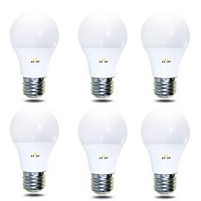 ieftine Becuri LED Glob-EXUP® 6pcs 7 W Bulb LED Glob 680 lm B22 E26 / E27 14 LED-uri de margele SMD 2835 Alb Cald Alb Rece 220-240 V 110-130 V