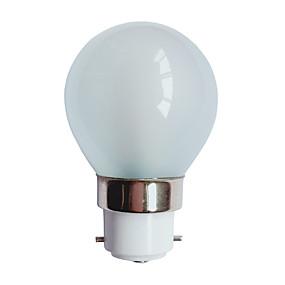 ieftine Becuri LED Glob-3 W Bulb LED Glob 90-100 lm B22 G45 25 LED-uri de margele SMD 3014 Alb Cald 220-240 V / # / RoHs