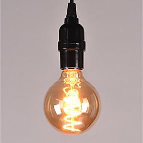 povoljno LED žarulje s nitima-1pc 4 W LED filament žarulje 100-160 lm E26 / E27 1 LED zrnca 85-265 V