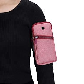 olcso iPhone tokok-Case Kompatibilitás Blackberry / Apple / Samsung Galaxy Univerzalno Sport karszalag Karpánt / Erszény Egyszínű Puha Vászon mert Univerzalno